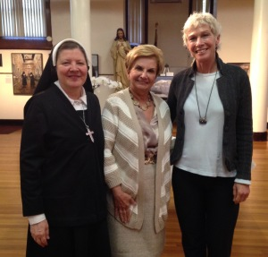 Mother Susan Marie, Arlene Figaro, Anne Goetze